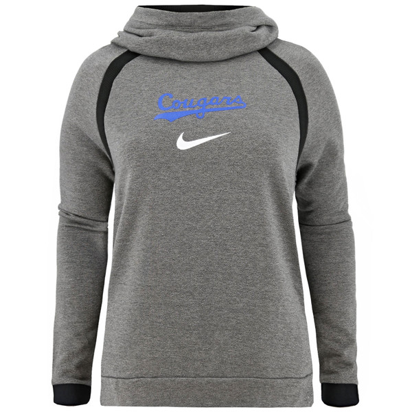 fd7711a70c79 Women s Dri-Fit Cougars BYU Hoodie - Nike
